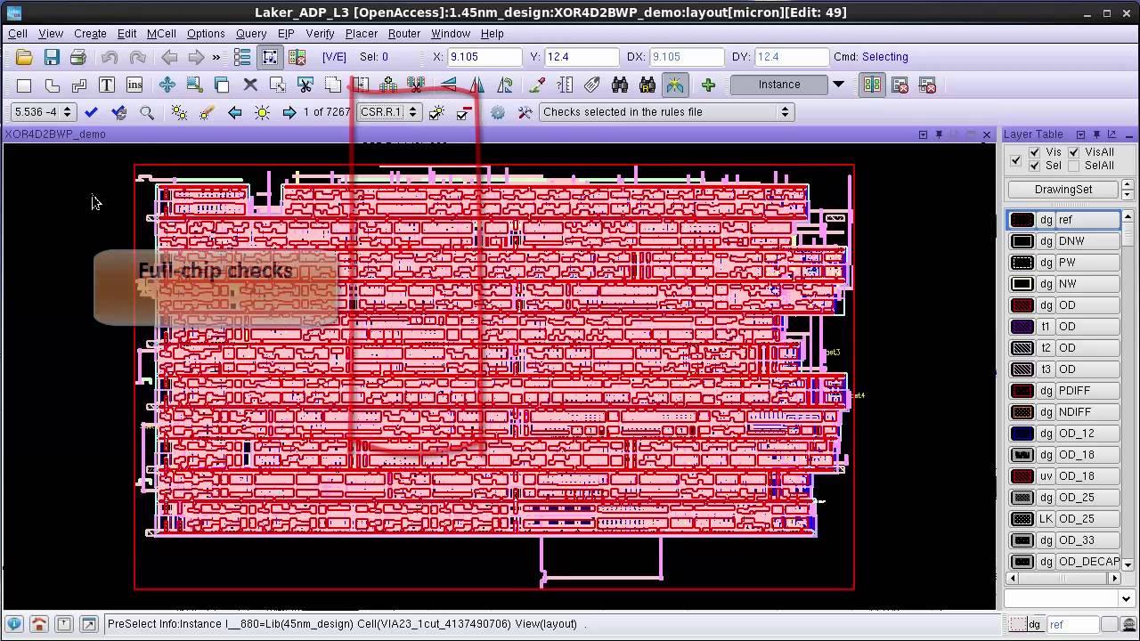 How to run a Calibre RealTime DRC job using a Calibre Interactive runset  file
