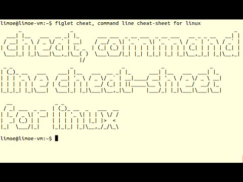Cheat, Command Line Cheat-Sheet For Linux - YT