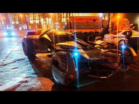Сотрудники ГИБДД задержали  «Бэтмобиль» в центре Москвы