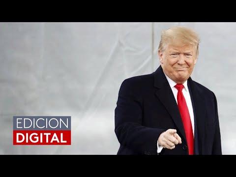 """""""El sábado es lo que se llama el valle de la muerte en la televisión"""": Trump sobre su defensa"""