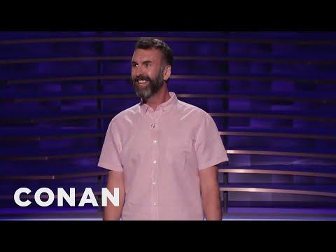 Matt Braunger Is Not Good At Smoking Weed - CONAN on TBS