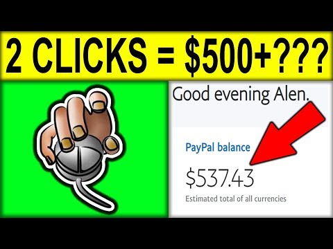 EARN $500.00+ in 2 Clicks RIGHT NOW!!!? [Make Money Online]