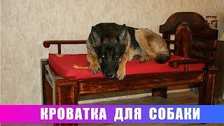 Кроватка для собаки!