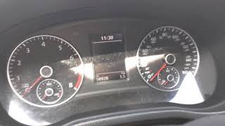 VW 2014 Reset Inspection Now warning light