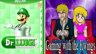 Gaming with the Kwings - Dr Luigi Nintendo Wii U