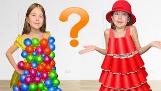 Маша и ее история про платья с мамой