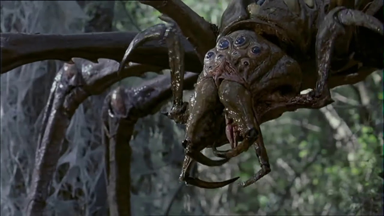 Arachnid (2001): Web and Death Scene (English subtitles) - YouTube
