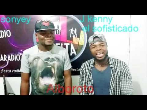 J kenny el sofisticado y sonyey en la emisora tu fiesta radio
