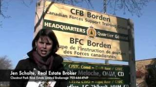 CFB Borden Jen Scholte Welcome