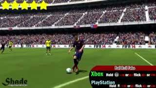 FIFA 14 All 55 Skills Tutorial | Xbox & Playstation | HD