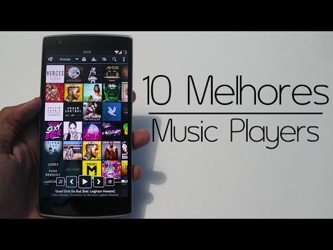 Os 10 Melhores Players de Música para Android