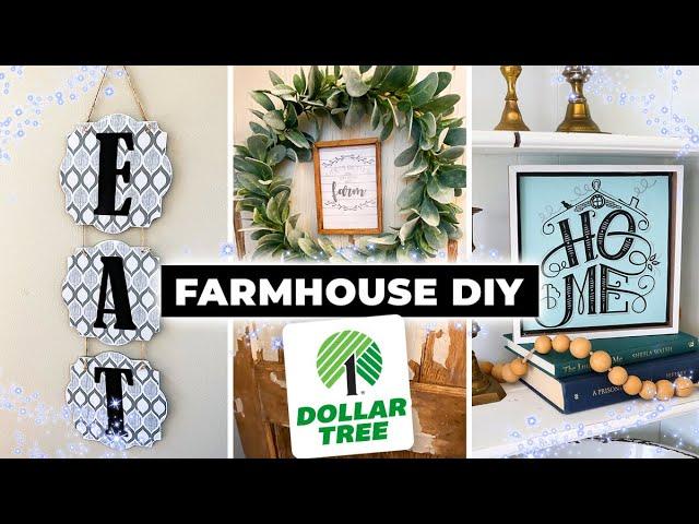 Dollar Tree DIY Farmhouse Decor ⭐ Easy Wall Decor 2020