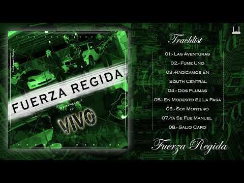 Cd Corridos En Vivo Vol .1 - Fuerza Regida (2018)  ESTRENO