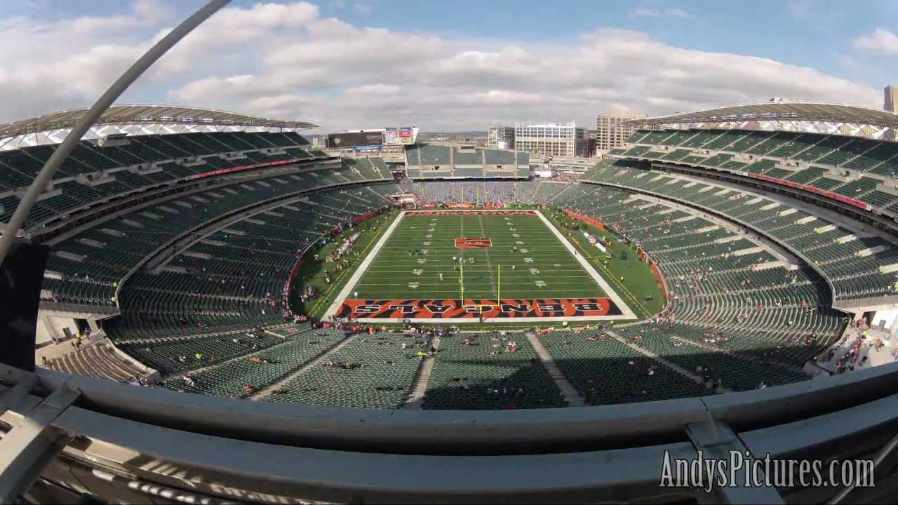Nfl Time Lapse Paul Brown Stadium From South End Zone
