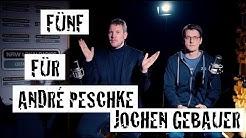 Fünf für André Peschke und Jochen Gebauer (Gamespodcast.de/Auf ein Bier) - das Interview ohne Fragen