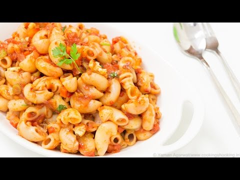Indian Style Macaroni Pasta Recipe