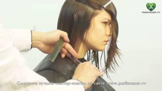 Как стричь Боб на густых волосах  Сергей Шапочка / how to cut bob on thick hair