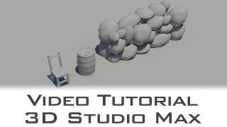 tutorial autodesk 3d studio max low poly modelling