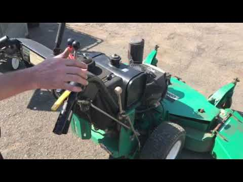 How To Operate A Lesco 48 Walk Behind