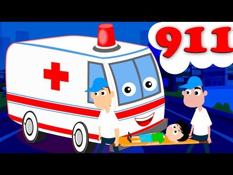 Ambulance Song | Kids Nursery Rhyme | Songs Children | Music Videos | Kids Tv Nursery Rhymes
