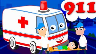 Ambulance Song Kids Nursery Rhyme Songs Children Music Videos Kids Tv Nursery Rhymes S02EP08