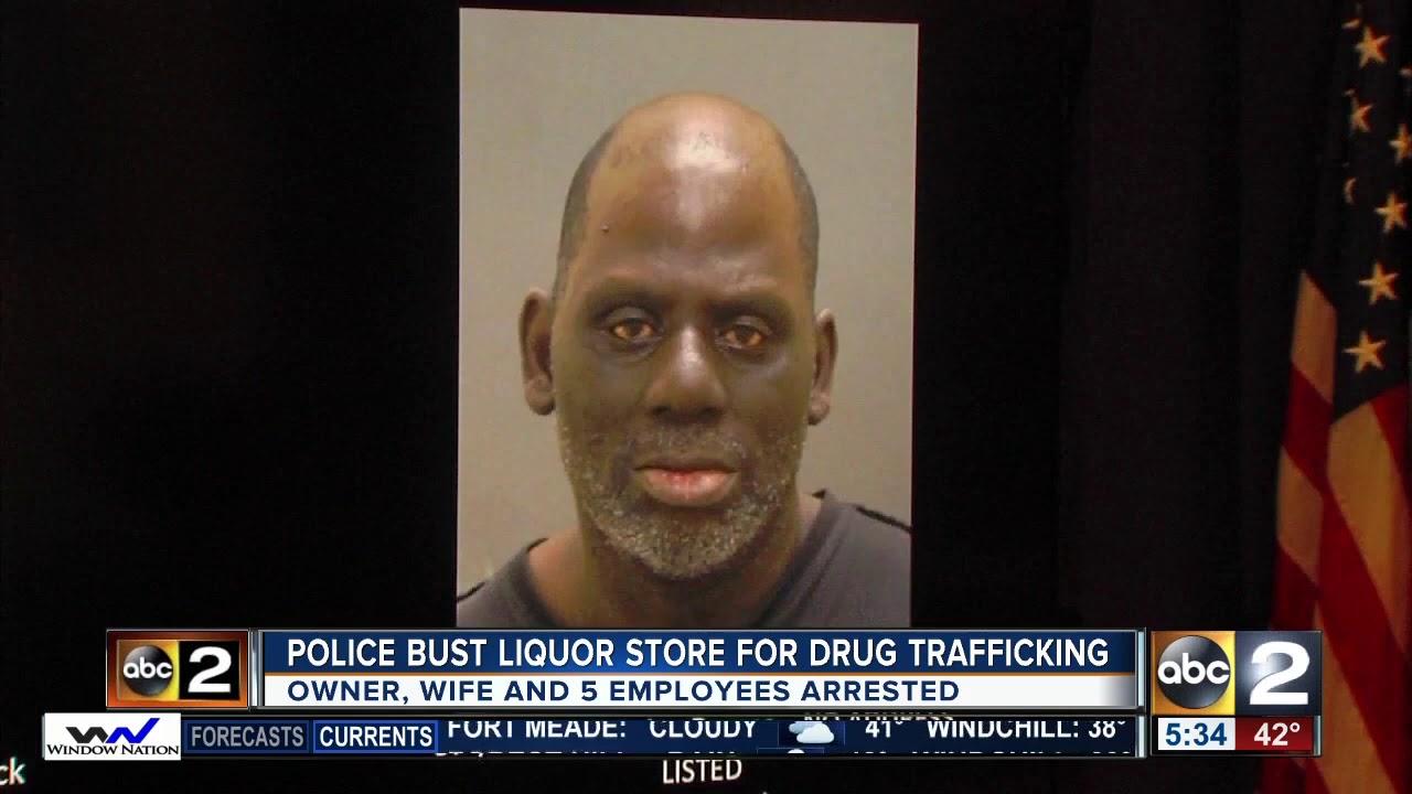 Business owner, wife arrested after officers raid liquor store for drug  trafficking