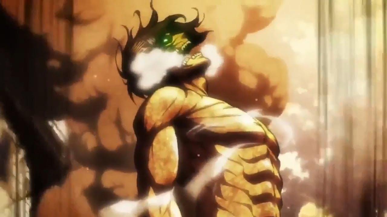 eren titan roar ATTACK ON TITAN: Top 2 Best Titan Roars [DUB]