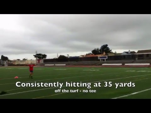 160109 Claire Dworsky First Field Goals