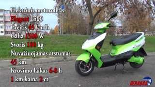 Elektrinis Motoroleris Elegant 1500 Electric Scooter 72V 1500W