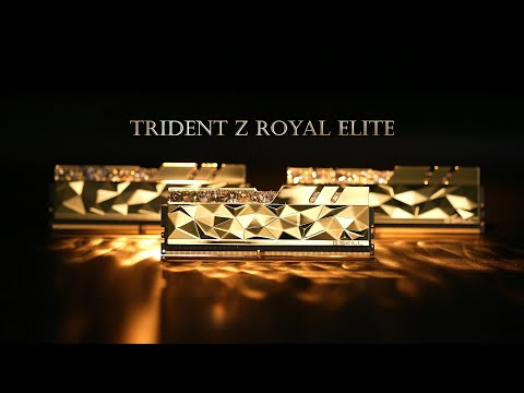Trident Z Royal Elite Series | The Ultimate Luxury Performance DDR4 Memory