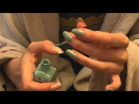 ~My Nail Care and How to Paint Flowers Nails~