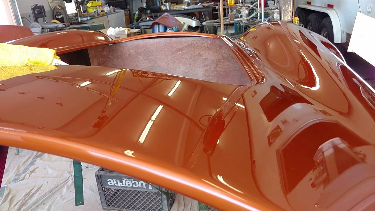 Factory 5 Cobra Atomic Orange Paint Work