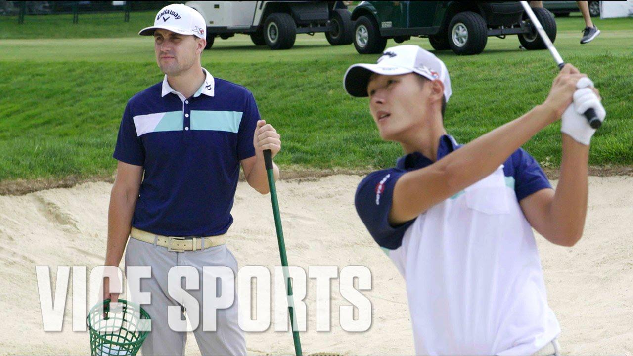 PGA Golfer Danny Lee Drives His Swing Coach Insane