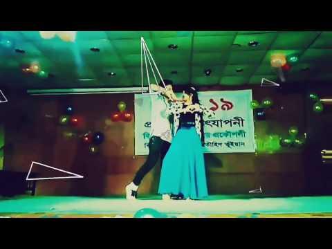 Cholna Sujon - Mezba Stage Performance Video | Daffodil International University