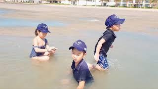 Đi Mò Cua Bắt Ốc cùng gia đình Lý Hải Minh Hà