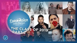 The Eurovision Class of 2019: Part 2: Languages