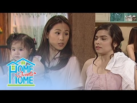 Home Sweetie Home: Julie teaches Sharon household chores