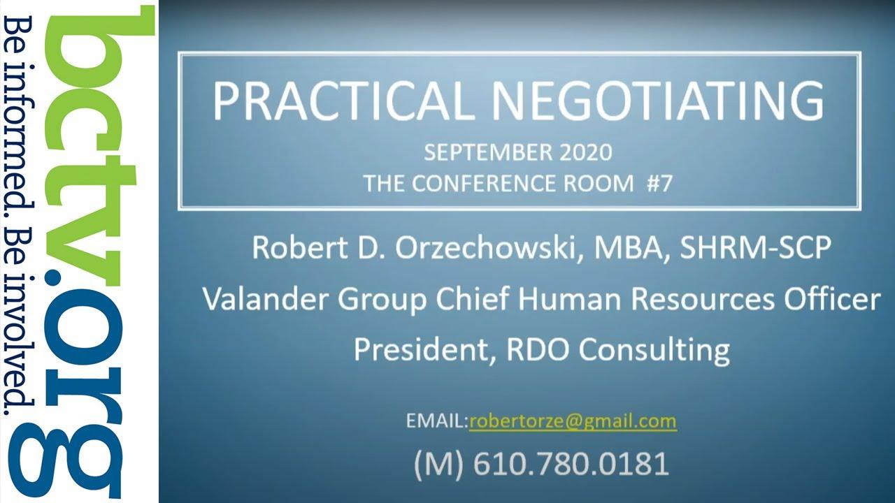 Practical Negotiating 9-8-20