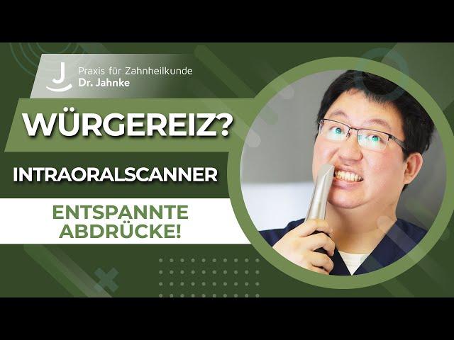 Entspannt beim Zahnarzt- Abdruckfrei und ohne Würgereiz mit dem Intraoralscanner (Live) | Dr. Jahnke