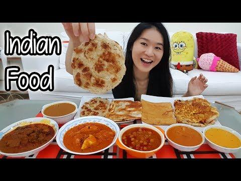 INDIAN FOOD FEAST • Mukbang • Eating Show