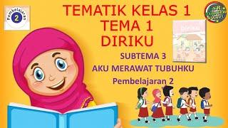 Kelas 1 Tematik : Tema 2 Subtema 3 Pembelajaran 2 (DIRIKU)