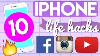 10 iPhone Life Hacks That ACTUALLY Work!