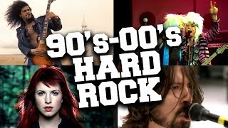 Top 50 Hard Rock Songs of the 90s & '00's