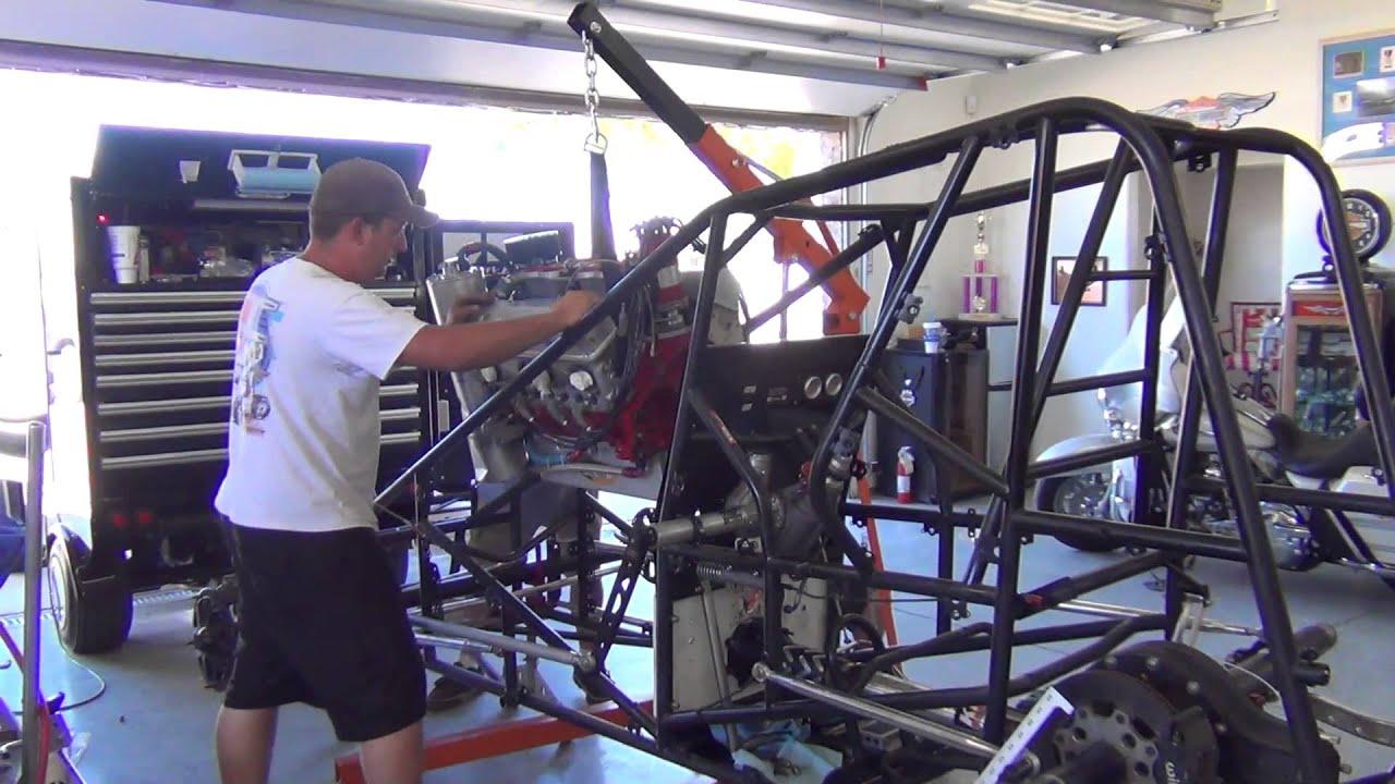 Gabbard racing 77 sprint car build youtube for Garage sprint auto stains