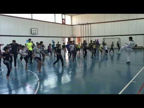 Jordan Martial Arts Open School, July 19th, Learning Front Kick