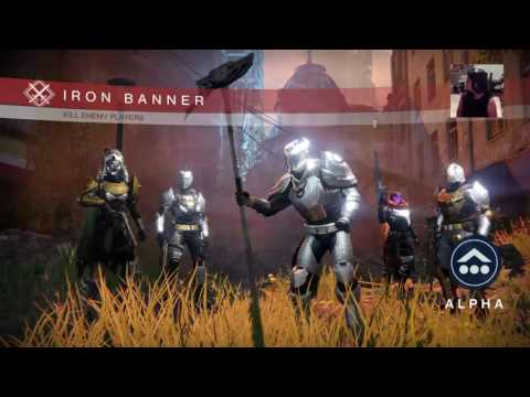 Iron banner w ur girl pods - Destiny ps4