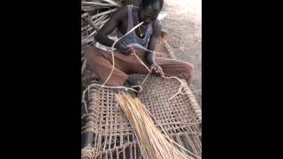 Making Rope For Bush Bed