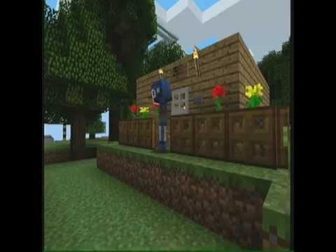 Minecraft xbox 360 casa trampa con pistones tutorial for Casa moderna minecraft xbox 360