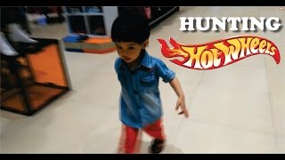 Hunting Track Hotwheels to Carrefour VLOG #3