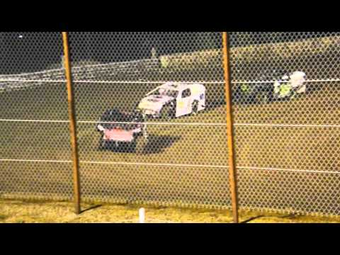 Michael Page Heat Race at Nevada Speedway 5-10-14